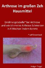 Arthrose im grossen Zeh Hausmittel