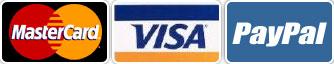 Mastercard Visa PayPal